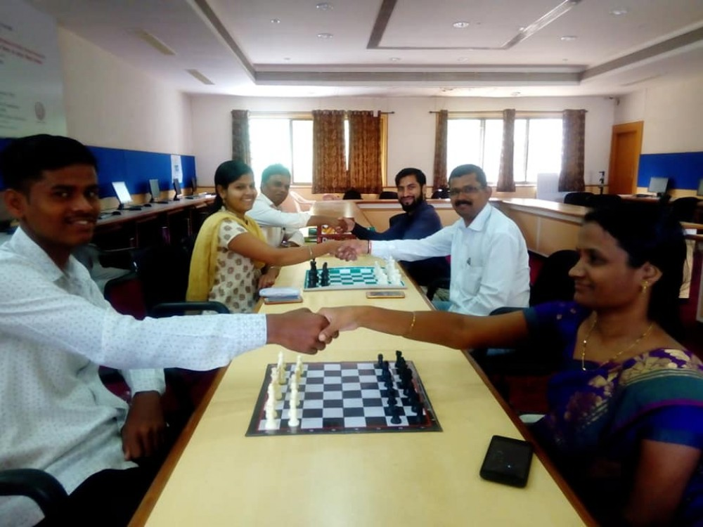 Y.C.M.O.U. GANESHOTSAV - 2018. Chess Competition.