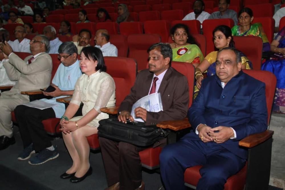 International Conference at Dr. B. R. Aambedkar Open University, Hyderabad.