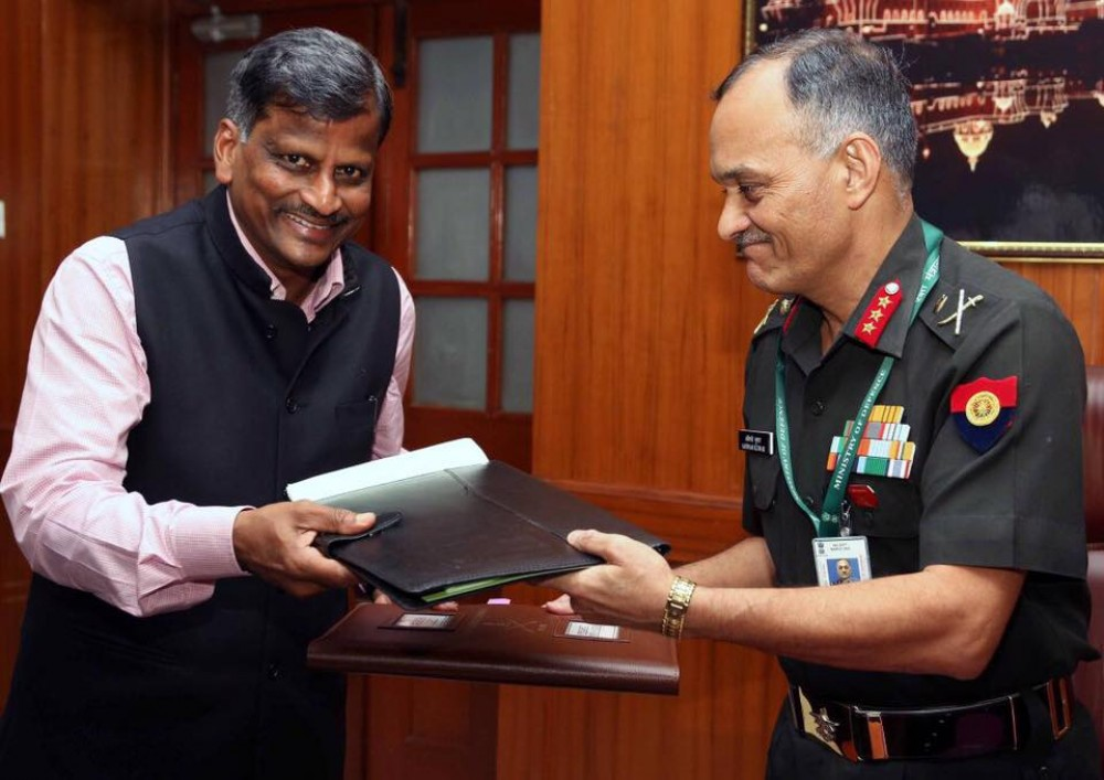 YCMOU and INDIAN ARMY - MoU - 2017