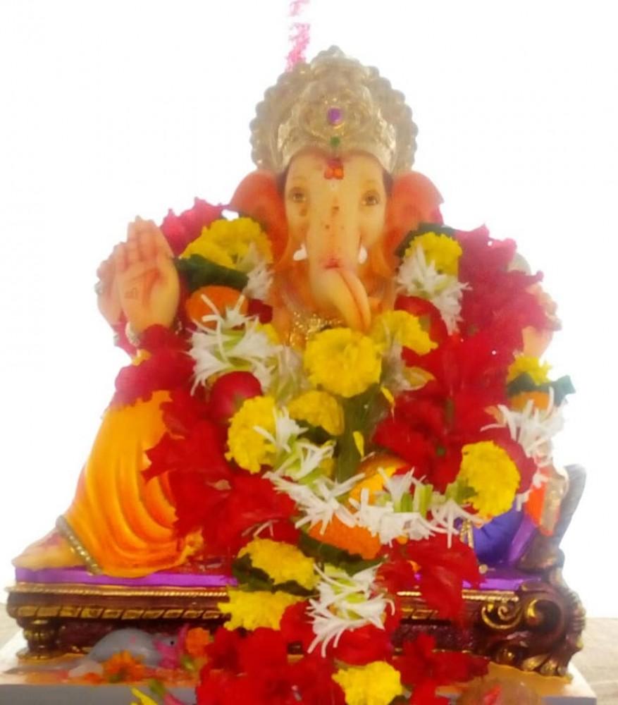 Y.C.M.O.U. GANESHOTSAV - 2018. Shri Ganesh Idol.